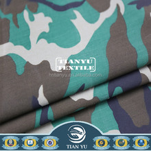 Cotton Camouflage Textile Cotton Printed Water Resistance Fabric for Protective Hunting Clothing