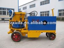 Construction machinery for concrete spraying