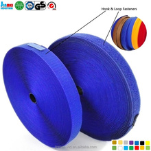 China factory wholesale Eco-Friendly waterproof hook and loop tape strap fasteners PP sticky tape magic tape