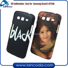 DIY blank sublimation cover for Samsung Galaxy Grand 2 G7106,3D sublimation phone cover,vacuum machine made 3d sublimation case
