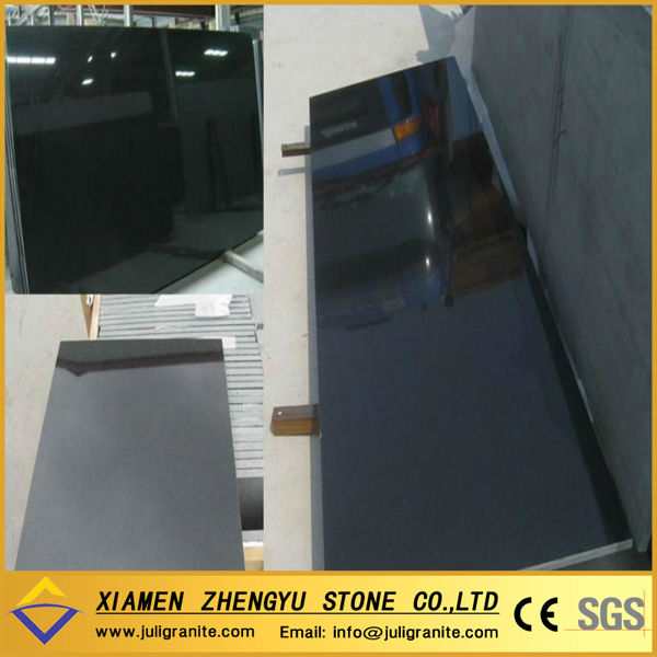 china black leather granite