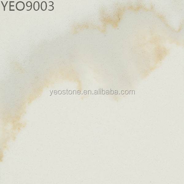 Artificial Marble Veins artificial quartz stone slabs (Calacatta)