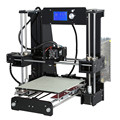 Heated Bed Anet A6 Big Size 3D Used Printer Machine Reprap i3 DIY 3D Printing Kit With 2Rolls of Filament