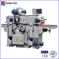 Automatic feeding woodworking surface planer machine