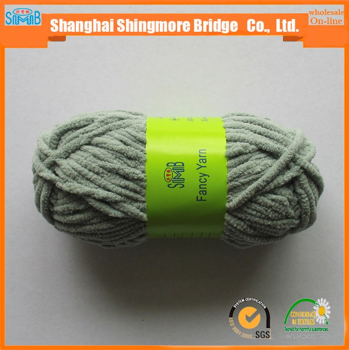 chinese famous manufacturer shingmore bridge wholesale cheap price with high quality chenille yarn for scarf