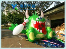 2017 Hot sale outdoor giant inflatable monster for advertising