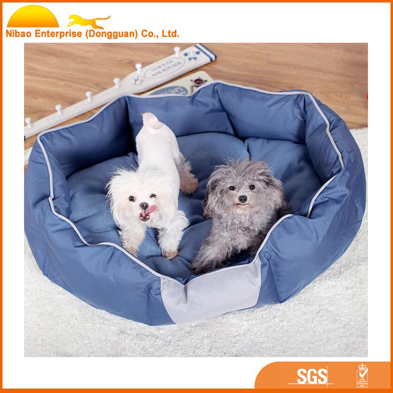 High quality round oxford pet dog sleeping bag bed