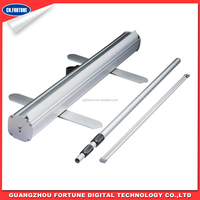 aluminum feet telescopic type Roll Up Stand display stand