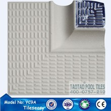 swimming pool nosing tiles ceramic tile edge trim