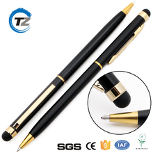 luxury stationery gift tablet stylus pen and touch metal ballpoint Pen for laptop