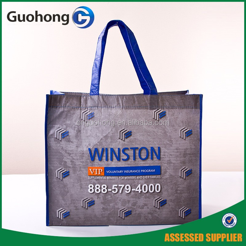 China supplier New material rpet shopping bag, recycled reusable shopping bag