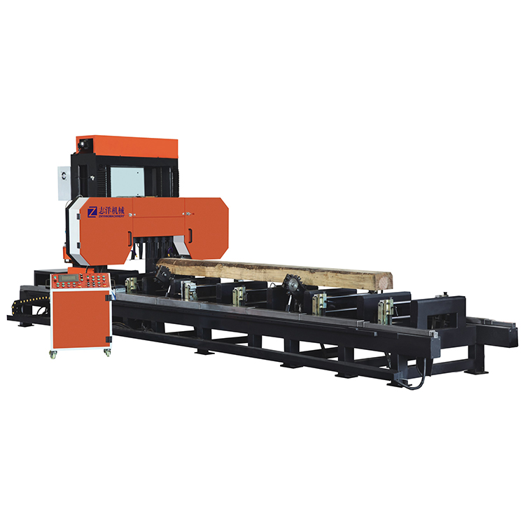 Wood machine sawmill