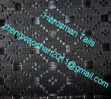 Horse hair textile weaved by natural horse tail hairs
