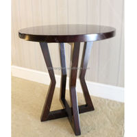 Wooden Round Coffee Table Modern Furniture