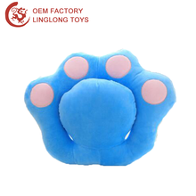 Cartoon Office Arm Sleeping Cushion Pp Cotton Emoji Pillow Octopus Plush Toy Blue Octopus Shape Nap Pillow