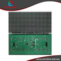 Semi-Outdoor xxx Image Moving LED Display P10 White Color LED Module 320*160mm for Pharmacy Advertising