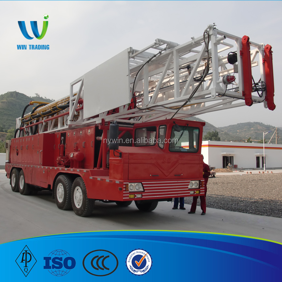 1500m Multi-FunctionTruck-mounted mobile Hydraulic water well drilling Rig