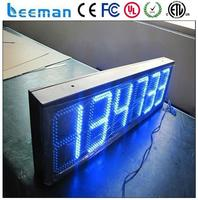 7-segments through hole led display 7-segment led digital display mini clock decorative