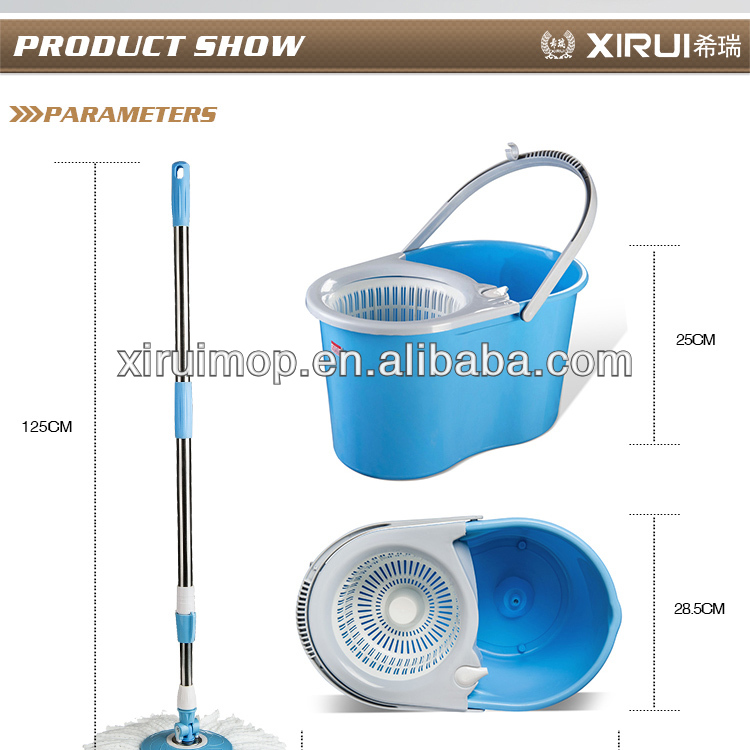 2013 newest design double top spin mop 360 degree supa mop