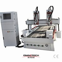 professional multi head drilling milling cnc router woodworking machine