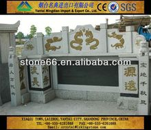 CN hotsale emerald pearl green granite monument