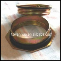 buy galanized steel sheet flange and closure match with 53---55Gallon steel barrel