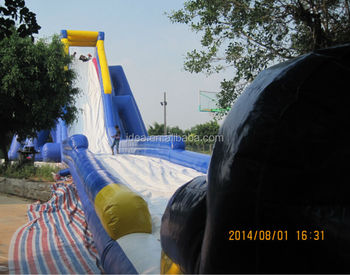 giant inflatable hippo slide WS070