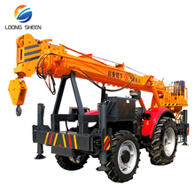 Good Price Tractor Hoisting Machine Mini Off-road Crane Rugged Land Truck Crane