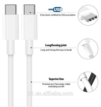 Hot sale <strong>USB</strong> 2.0 type c to type c <strong>data</strong> <strong>cable</strong> for Android