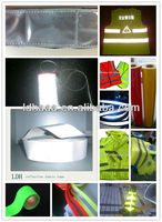 Manufacturer EN471 Silver Reflective Tape Fabric for Clothing