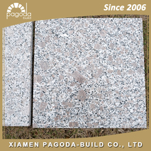 China G383 Light Grey Cheap Granite tiles 60x60 with Pinkish Grains from Shandong
