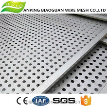 cheap Copper Perforated Round Hole Mesh