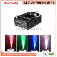 Cool 24x3w rgb tri-color 1500w led moving head fog machine with remote