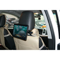 "10"" inch LCD wireless 4G WIFI network Android advertising display tablet in taxi cab"