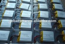 Hot sale LiCoO2 rechargeable li-ion battery 3.7v 1600mah