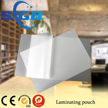 SIGO laminated pvc sheet/laminating pouch film/laminating pouch