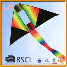 3D rainbow delta kite from weifang kite factory