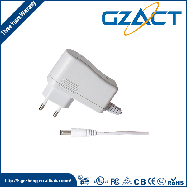 AC DC 5-24v Wall plug 12v 1a power adapter
