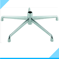 high quality most popular products base reasonable price material aluminium five star radius 350mm office chair spare parts