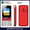 Q200 1.77 inch quad gsm dual band generic cheap cellphones made in china