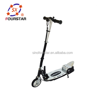 Cheap 120W Rechargable Mini Electric Scooter with Seat CE Approved