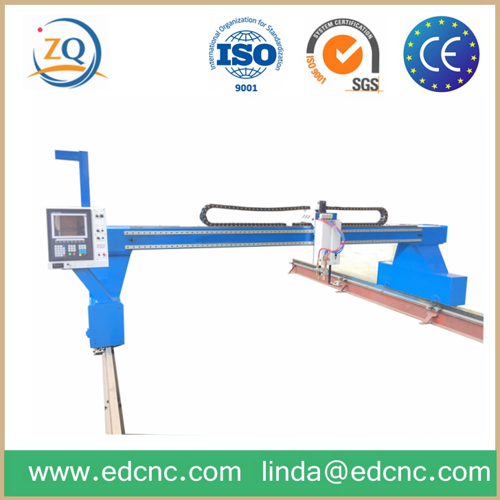 Electric Substation Structure CNC Plasma Gantry Cutter used for different metal