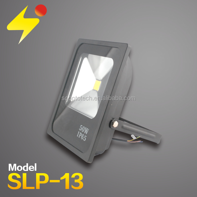 powerful led flood light 50w led down light high quality led projection
