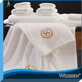Factory guangzhou hotel cotton face towel size wholesale made in China