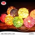 Smell of NATURE! Rattan ball night lamp