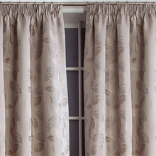 latest style golden luxury cafe living room curtain making wholesale
