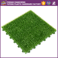 China Guangdong 2016 hot selling anti-slip artificial turf carpet for balcony