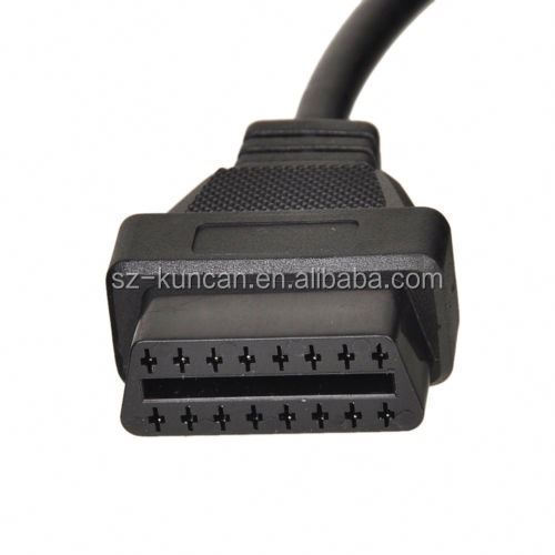 20 Pin To OBD2 Female 16Pin Auto Diagnostic Tool Adapter Cable