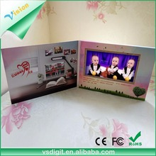 Factory price 123 greeting birthday cards happy birthday handmade decoration greeting cards with LCD Screen