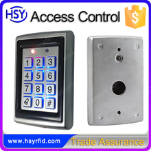 HSY-S208 keypad standalone metal access control reader with wiegand interface